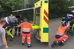 Pacientku s 250 kg museli zvedat hasiči: Záchranáři by se strhli, použili elektrický stůl
