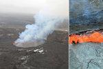 Sopka na Havaji může každou chvíli explodovat: 250 otřesů za jediný den