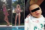 Kobzanová představila novorozenou dceru! Vyrobila jsem si klona, vtipkuje blondýna