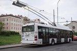 Méně hluku i znečištění: Dopravní podnik v Praze vyzkouší další typ elektrobusu