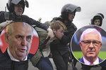 Rusové zatkli přes 1600 lidí. Drahoš si rýpl: A Zeman jim servilně slouží