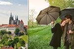 Jak bude v Praze příští týden? Do letních teplot by se měly promítnout přeháňky
