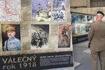 Poslední válka monarchie, první válka republiky: Rok 1918 připomíná výstava v Dejvicích