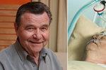 Václav Postránecký podstoupil zákrok v nemocnici: Tajná operace!