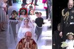 Kam zmizely královské děti George s Charlottou po obřadu Harryho a Meghan?
