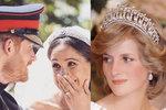 Přestože tomu bude letos jednadvacet let, co princezna Diana zemřela, oba její synové na ni neustále vzpomínají a při různých příležitostech si ji připomínají. Jinak tomu nebylo ani na svatbě prince Harryho a Meghan Markle. Jakým způsobem vzdali krásní novomanželé princezně Dianě hold?