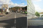 Zelenější Praha 5: Takhle budou vypadat Plzeňská a Vrchlického. Přibudou stromy i lávka mezi parky