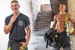 Dámy, tohle jen tak nerozdýcháte: Slovenský hasič ukázal, co nosí pod uniformou!