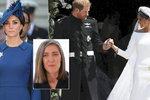 Návrhářku, která obvinila Meghan z kopírování šatů, umlčeli. Už ani písmenko na adresu Harryho manželky