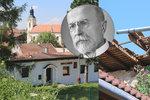 Skandál! Zatímco politici slavili výročí vzniku Československa, na domku TGM se zřítila střecha