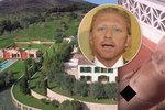Tenista Boris Becker jen zírá: Jeho luxusní vilu obsadil nahatý hipísák!