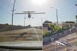Pilotka nouzově přistála přímo uprostřed ulice. Letadlu vypověděl motor