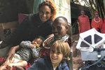 Těhotná Abbasová v Africe i s dětmi: Masajové šíleli z kočárku! Neznali ho