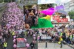 Kam o víkendu v Praze? Na růžový nebo veganský pochod,  na barevný festival nebo na oslavy republiky do Hvězdy