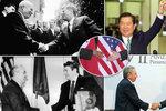 Podání rukou: Jak ho zvládli Chruščov a Kennedy, Nixon a Mao, či Rabin a Arafat?