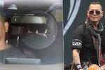 Pohublého Johnnyho Deppa před koncertem v Praze podpírala ochranka! V autě se schovával, na pódiu pookřál