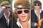 Depp vylezl z nory a opustil Prahu: Co se dělo po koncertě Ozzyho a spol.? Večeře s brunetou!