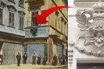 Rakouská orlice se po 100 letech vrátila na fasádu domu v Orlí ulici: Znak hospodě povolil Josef II.
