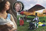 Druhá žena miliardáře Janečka Lilia: 14 dní po porodu vyskočila z letadla!