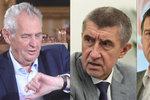 Klíčová schůzka Babiše a Hamáčka v Lánech: Vítězem bude Zeman, mají jasno experti