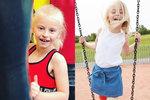 Sedmiletá dívenka bez nohou si splnila svůj sen. Co to bylo?