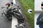 Nadějný fotbalista Erik (†20) zemřel na milované motorce. Koupil si ji teprve před pár měsíci