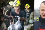 Český hasič v Thajsku: Únava roste, zítra má navíc začít pršet. Zaplaví jeskyni s dětmi voda?