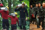Osm dětí zůstává uvězněno v jeskyni, riziko roste. Kdy vyrazí potápěči opět do akce?