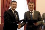 Babiš stvrdil pakt s ČSSD i KSČM. Podepsali koaliční smlouvu a dohodu o toleranci