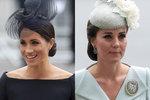 """Královské krásky: Kate překvapila doplňky, Meghan černými """"svatebními"""" šaty"""