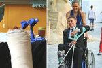 Režisér Účastníků zájezdu Vejdělek: Skončil na vozíku kvůli špatnému pohybu!
