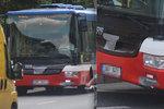 Prasklý blatník nebo karoserie? Dopravci používají na autobusy místo oprav izolepu
