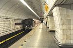 Metro na Českomoravské je uzavřené pro vstup. Porouchal se tu eskalátor