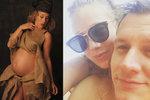 Aneta Krejčíková z Ulice v 8. měsíci těhotenství: Sexy i v pytli od brambor