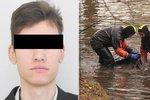 Smutný konec pátrání: Tělo Kristiána (†25) našel rybář v Orlické přehradě