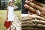 Těhotná Míša Maurerová se pochlubila zásnubními prstýnky! Bude svatba č. 2?