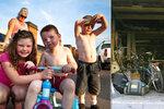 Matku se třemi dětmi vystěhovalo město na ulici. Bydlí v garáži u kamarádky