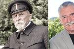 Martin Huba si zahrál prvního československého prezidenta: Klaním se před Masarykem!
