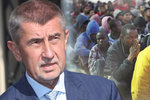 Babiš nabídl kvůli migrantům pomoc Itálii a Maltě: České bezpilotní letouny
