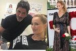 Těhotná Adriana Sklenaříková (46): Poslední foto z gynekologické prohlídky!