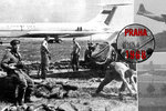 """20. srpna 1968: Invaze začala na letišti v Ruzyni. """"Jděte pěšky domů,"""" hřímal sovětský major"""