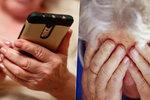Podvodníci útočí na seniory. Falešnými SMS z nich chtějí vymámit tisíce