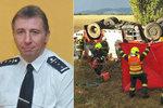 Hasič ze Šumperska jel k zásahu moc rychle: Z tragické nehody viní řidiče, který přišel o nohu