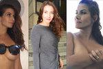 Evu Decastelo svlékání stále baví: Vlastní prsatou výzvu hned splnila