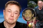Drsný útok miliardáře na hrdinu-potápěče z thajské jeskyně: Znásilňuje děti, tvrdí Musk