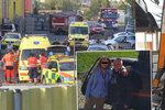 Ve zříceném vrtulníku v Plzni zemřela zahraniční delegace: Thajci zde chtěli investovat