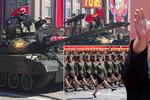 KLDR slaví velké výročí: Vojačky i tanky v ulicích. Ale kde nechal Kim obávané rakety?