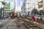 Proč v centru nejezdí tramvaje? Mohou za to i nedokonalé opravy! Na Národní třídu se vrátí v úterý