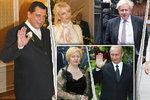 Paroubek válčí s Petrou, exministra vyhnala žena za nevěru. Rozvedli se Putin i Merkelová