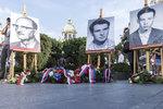 """50 let od upálení Ryszarda Siwiece: Zástupci Polska, Česka a Maďarska uctili """"živé pochodně"""""""